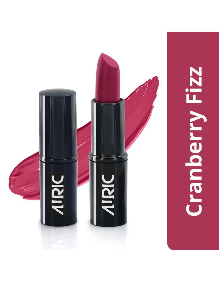 Auric MoistureLock Lipstick, Cranberry Fizz