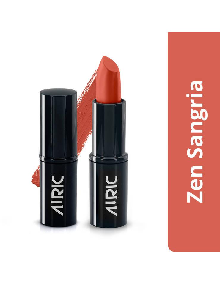 Auric MatteCreme Lipstick, Zen Sangria