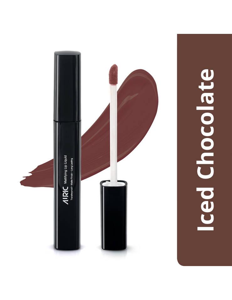 Auric Mattifying Lip Liquid, Iced Chocolate