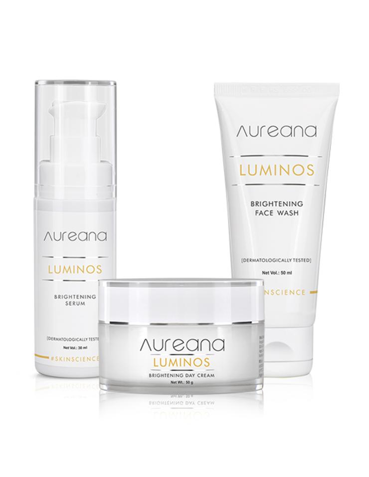 Combo Offer (Luminos Brightening Face wash,50 ml+Serum,30 ml+Day cream,50 gm)
