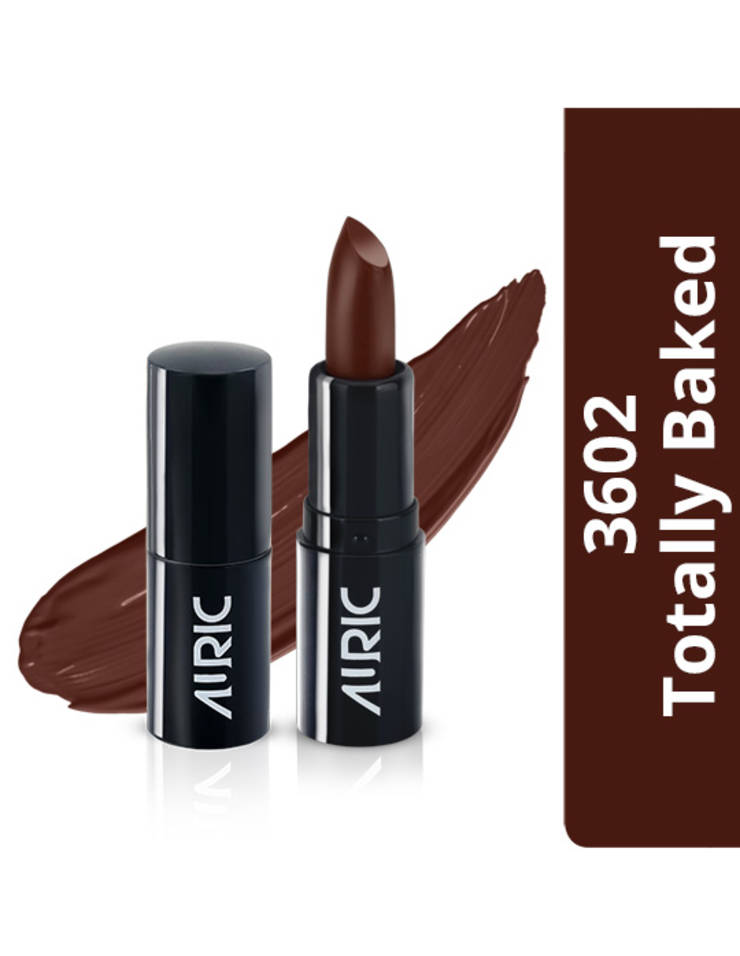 Auric Mini MoistureLock Lipstick, Totally Baked, 1.5 g