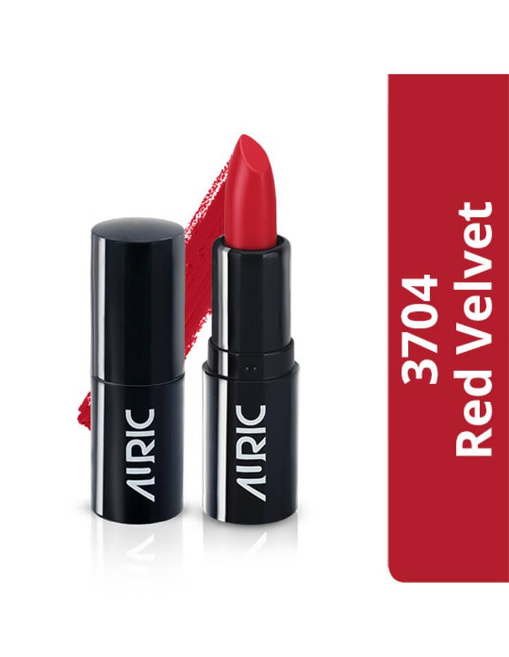 Auric Mini MatteCreme Lipstick, Red Velvet, 1.5 g