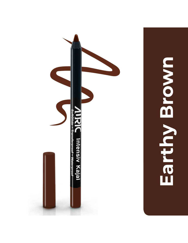 Auric Intensiv Kajal - Shade: Earthy Brown [Brown Color Kajal]